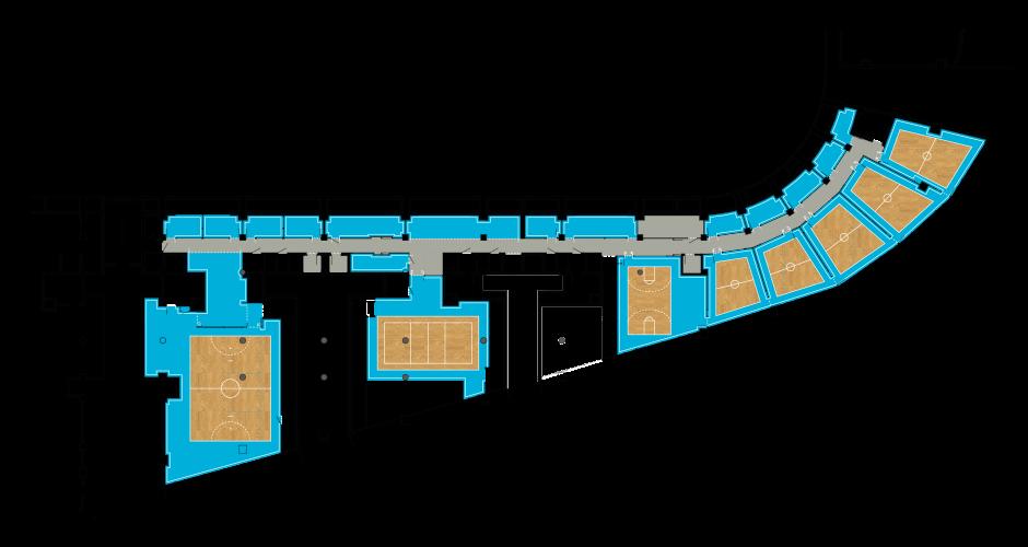 Plan du 1<sup>er</sup> étage. <br/><br/><br/><br/>