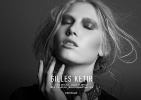 Gilles Ketir   Hair Stylist – Makeup Artist   Coiffeur – Maquilleur