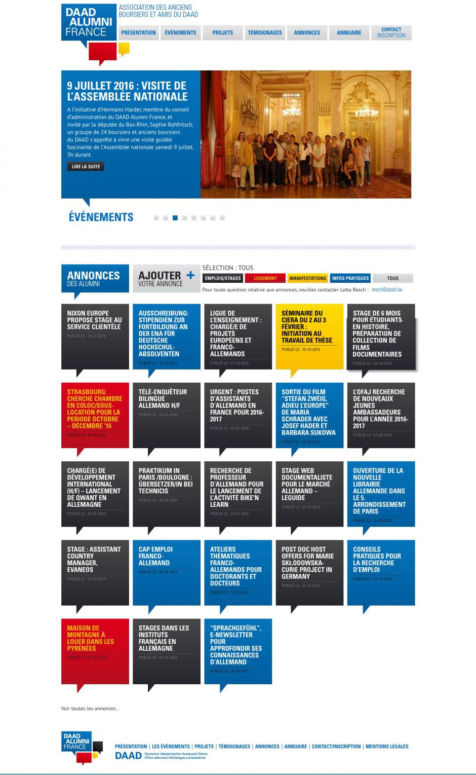Site Internet du DAAD Alumni France : http://www.daad-alumni-france.org